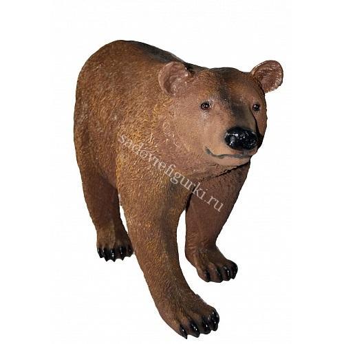 Медведь большой стоячий бурый