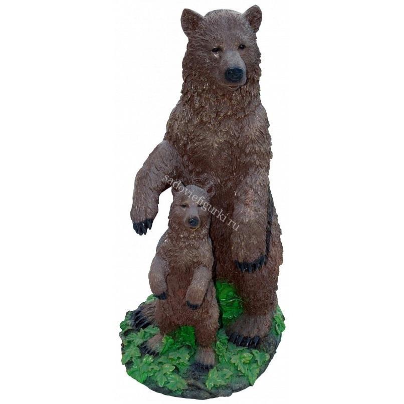 Медведи семья 2 шт
